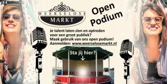 Weerselose Markt Open Podium