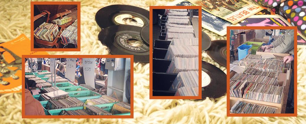 Zondagsmarkt 11 november met CD- en Platenbeurs