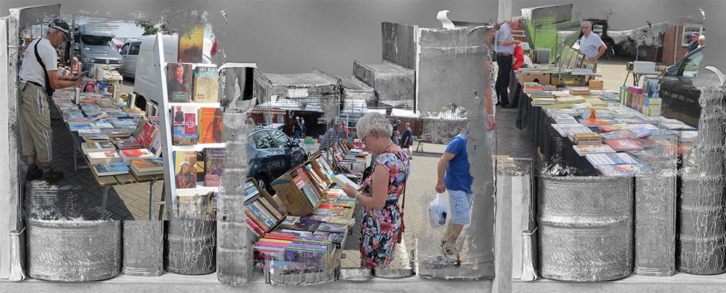 Zondagsmarkt 8 juli met boekenmarkt