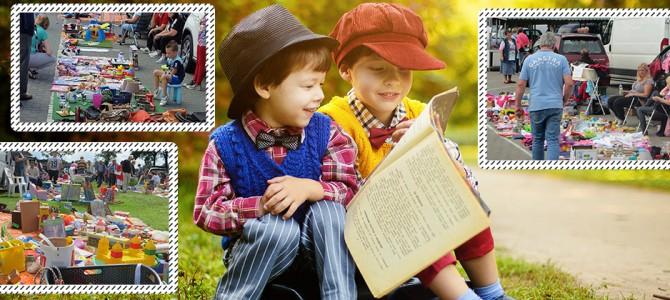 Zondag 12 augustus Kinderrommelmarkt