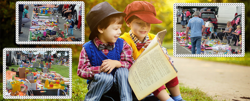 Zondag 12 augustus met Kinderrommelmarkt!