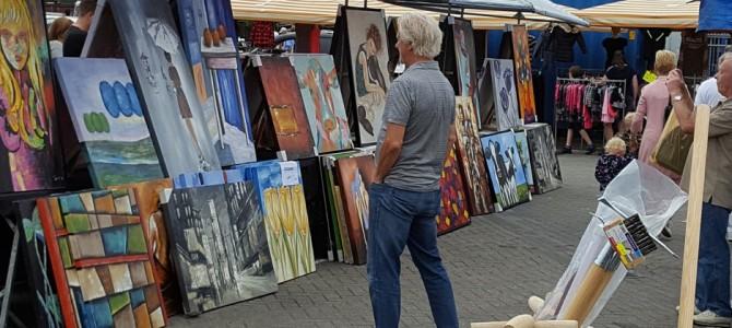 Zondag 10-9: Fotografie en Kunstmarkt