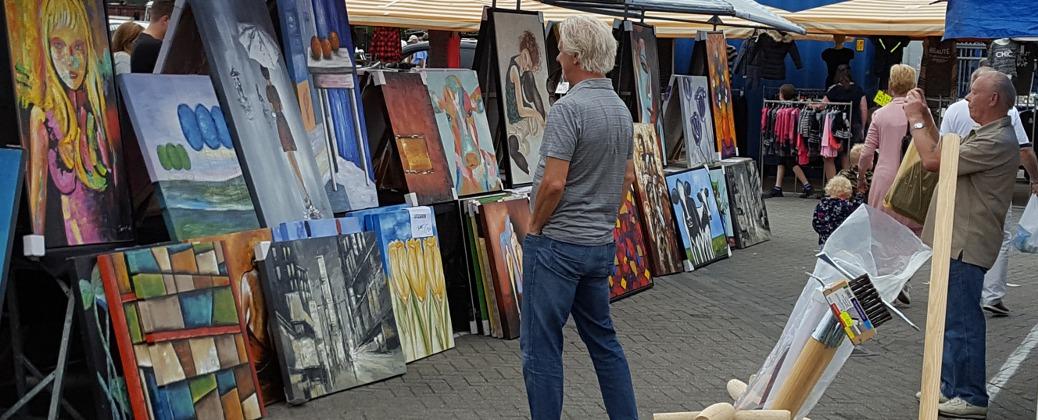 Zondag 9 september: Fotografie en Kunstmarkt