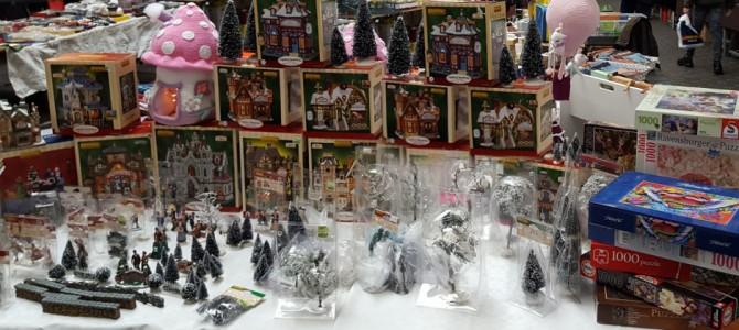 Brocante in Kerstsfeer op zondag 9 december