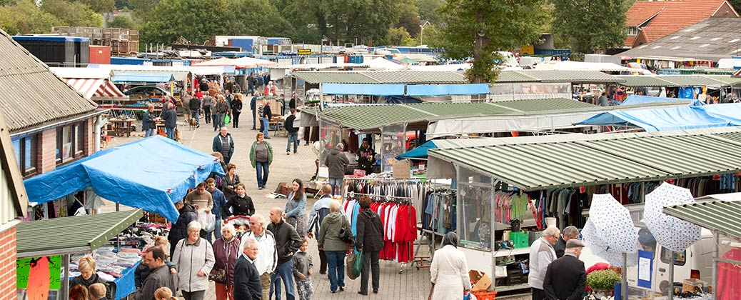 20.000 square meters outdoor market