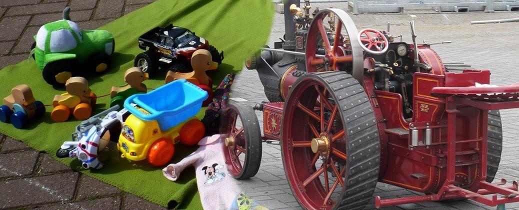 Zondag 12 juni Kindermarkt + Oldtimershow